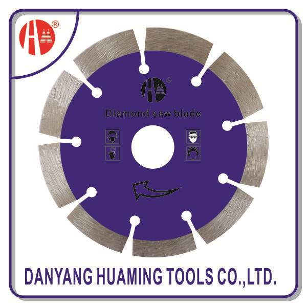 factory high quality tile and marble tool saw segmented cutting blade for masonry,brick,block,,concr