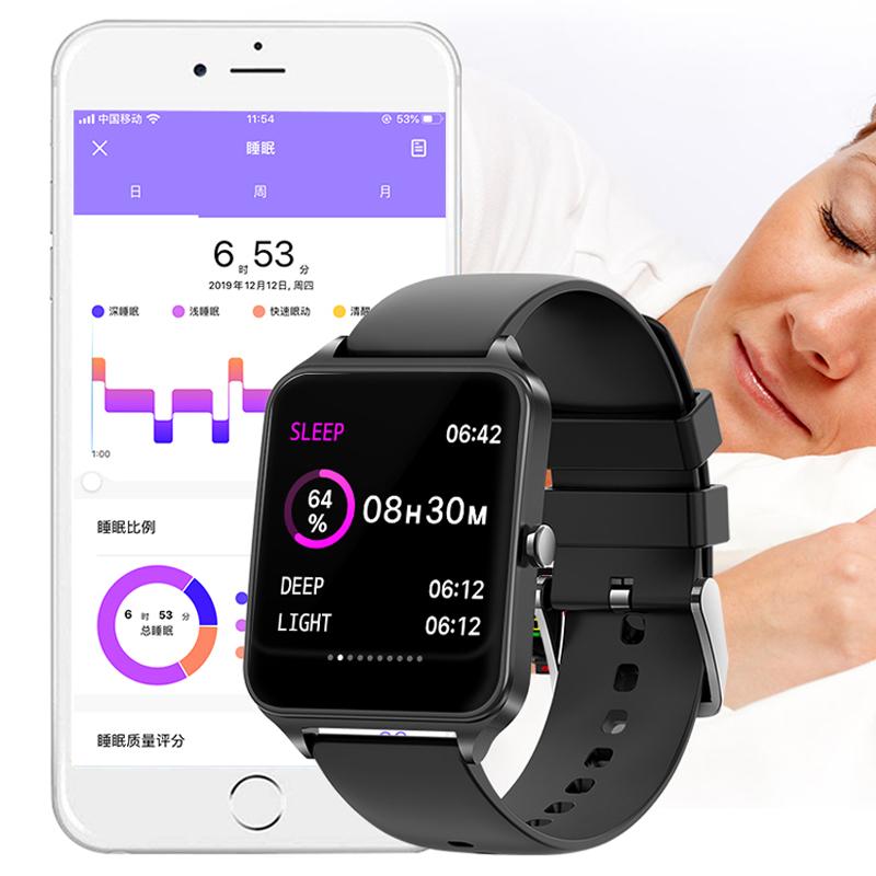 B20 Remote Camera Smart Watch Health Detection IP67 Waterproof Sport Fitness Tracker
