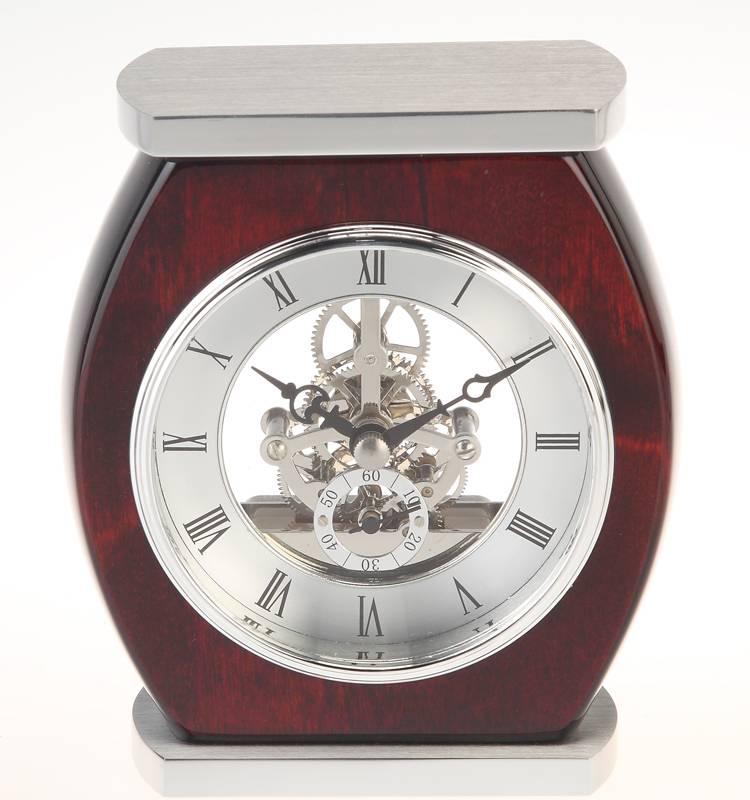 Conda Quartz wooden desk clock K8011