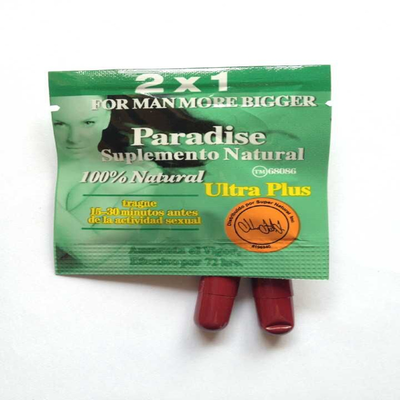 2x1 paradise ultra plus sexual enhancement capsules