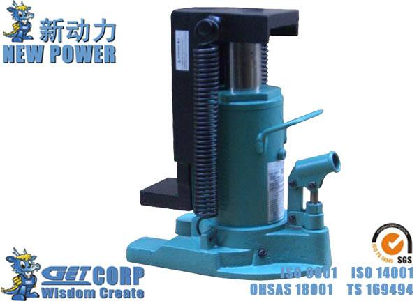 2.5T-20T Vertical Hydraulic Jack MHC Claw Type Jack