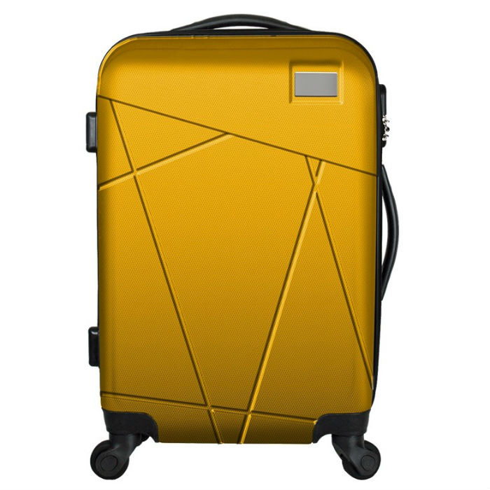 Promotional Gifts Trolley plane Luggage and cabin airport Luggage ABS+PC Trolley Suitcase with high