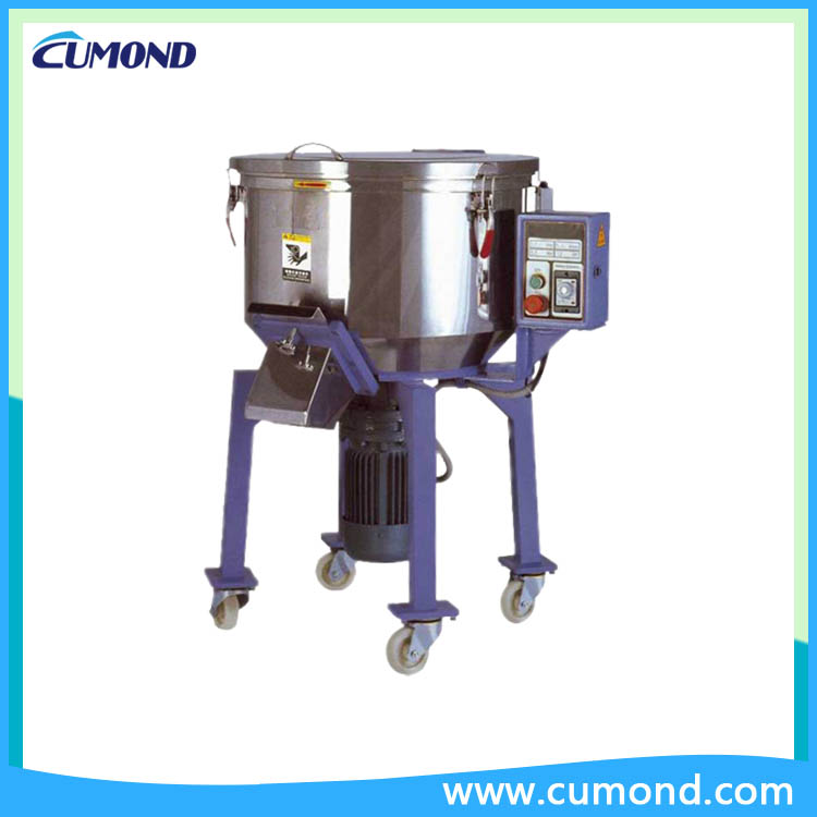Plastic masterbatch color mixer machine