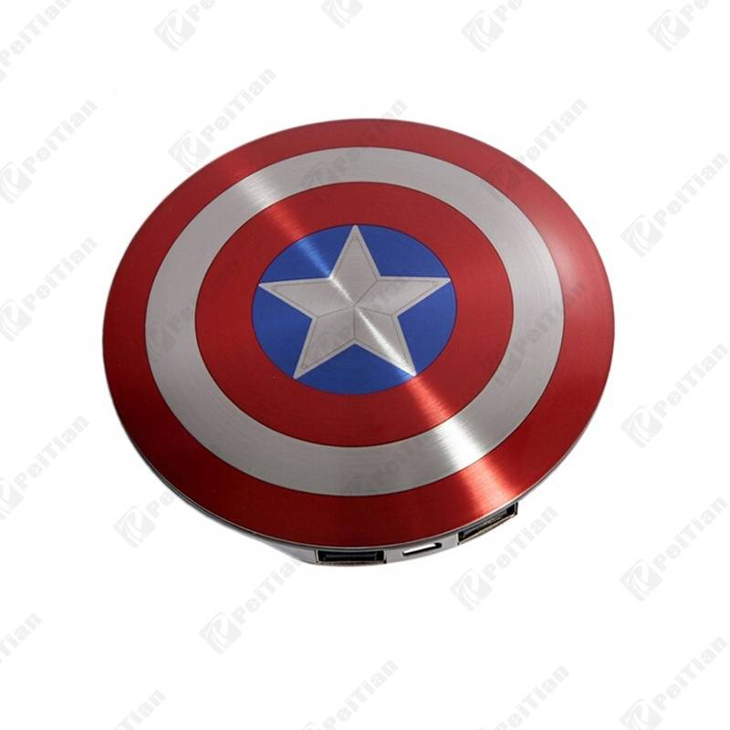 PT-143 6800mAh Captain America Design Power Bank