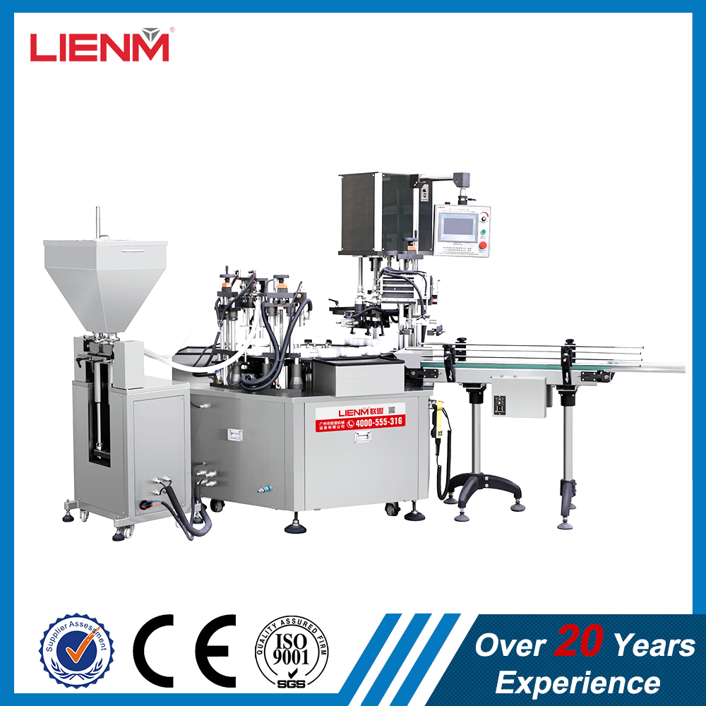 LIENM Machinery Factory Production Liquid Detergent Filling and Capping Machine