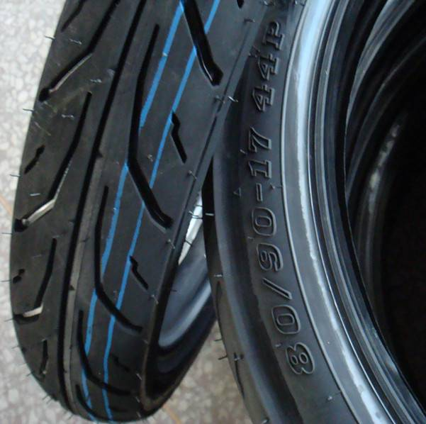 Durable Tires Motorcycles and Tube 80/90-17
