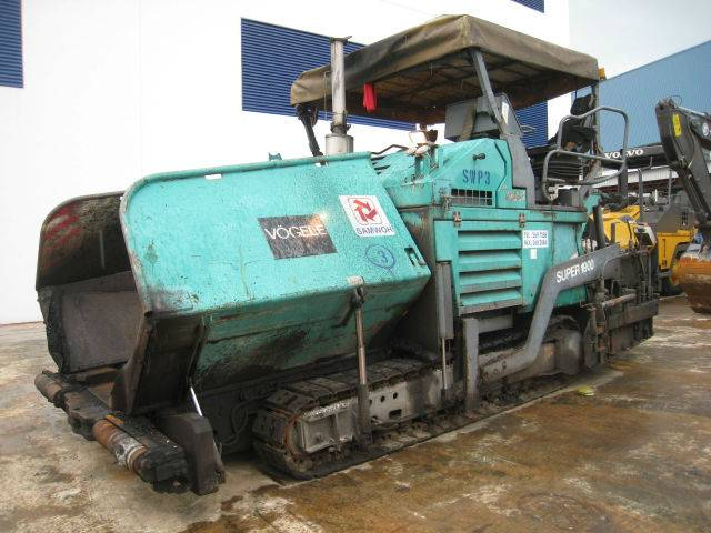 Super1900 - Asphalt Finisher