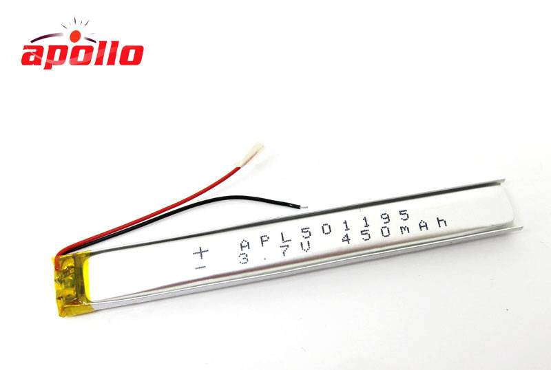 good lithium polymer rechargeable battery 5.0*11*95mm on sale
