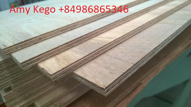 Flooring Plywood with Full Core and Phenol Glue from Vietnam