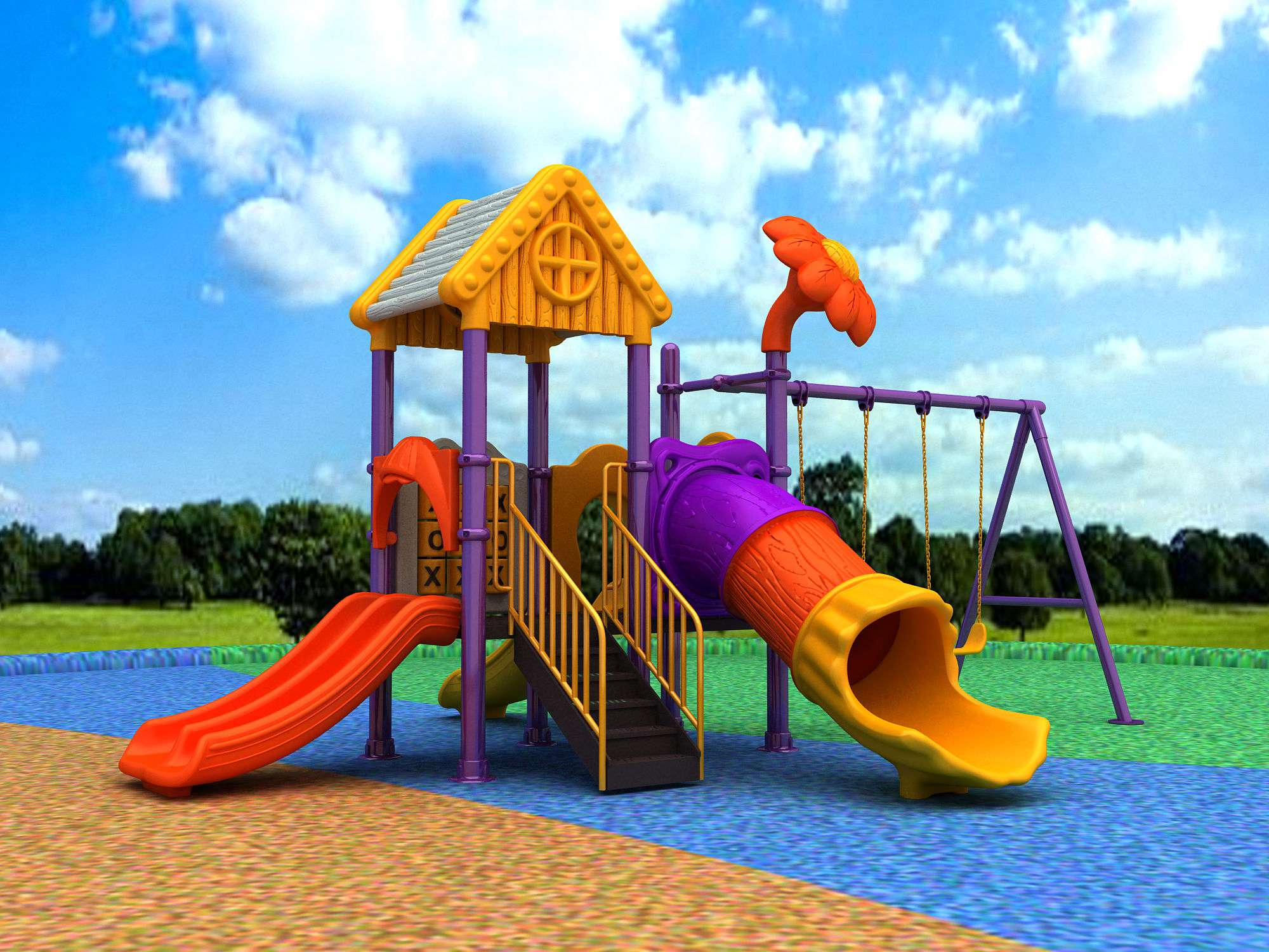 hot selling outdoor playground