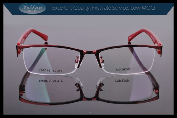 new style japanese red eyeglass frames