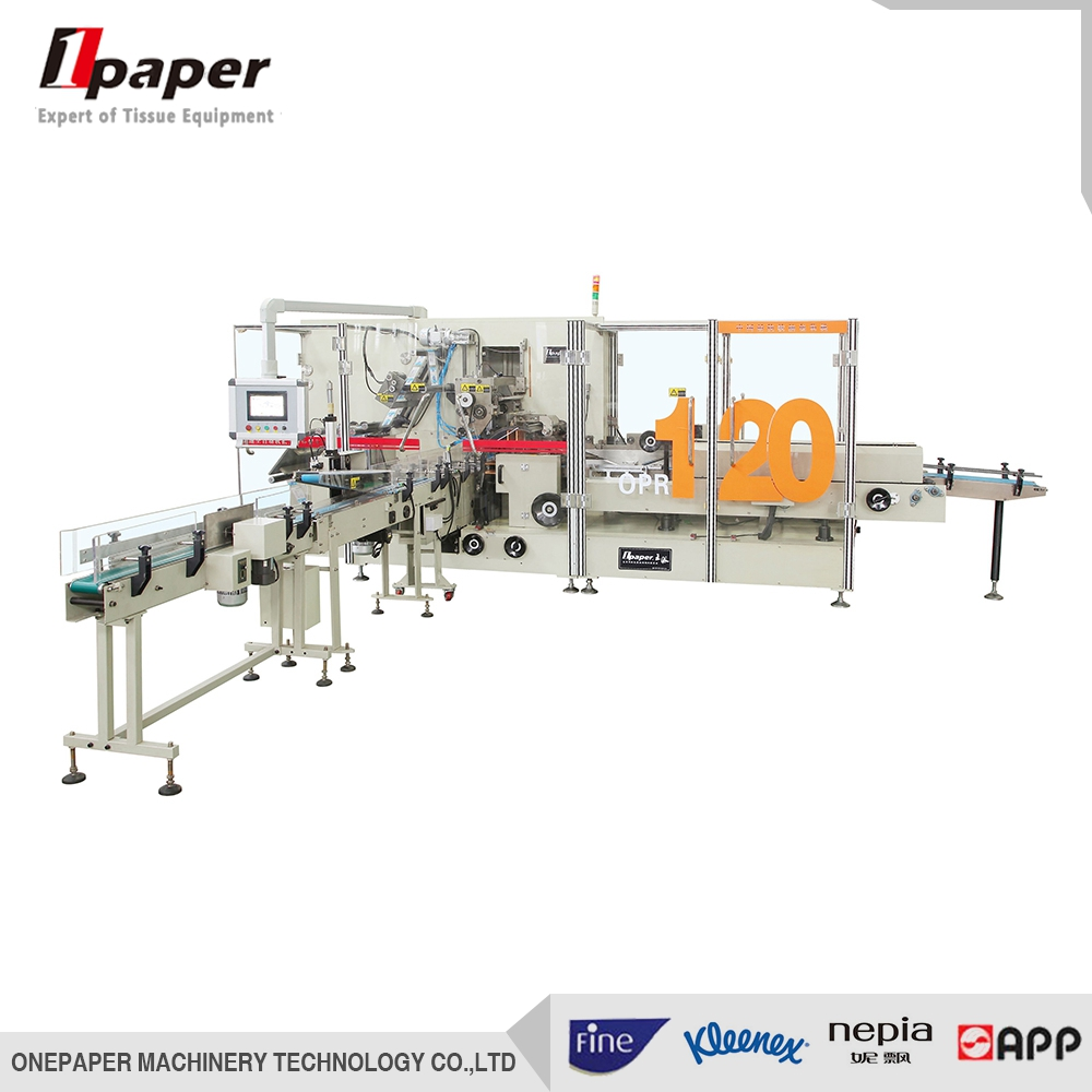 High Speed Facial Tissue Paper PE Film Packing Machine, paper machinery, Packing Machine, paper seal