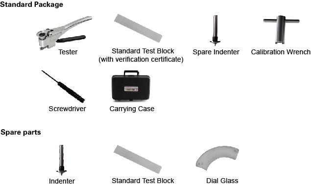 W-BB75 Webster Hardness Tester