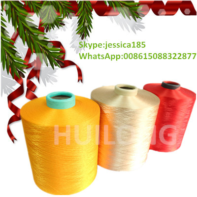 DTY Knitting Dope Dyed Polyester Yarn