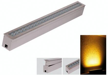 linear led ingound light 18W24W36w beam angle adjustable