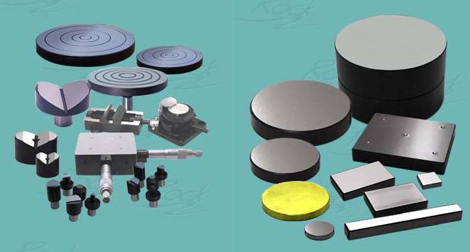 Hardness tester accessories