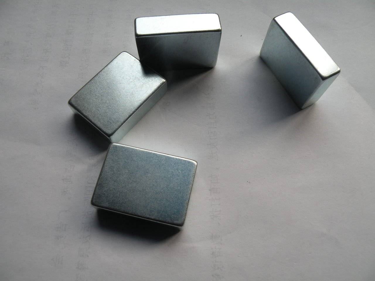 Cube design neodymium magnet