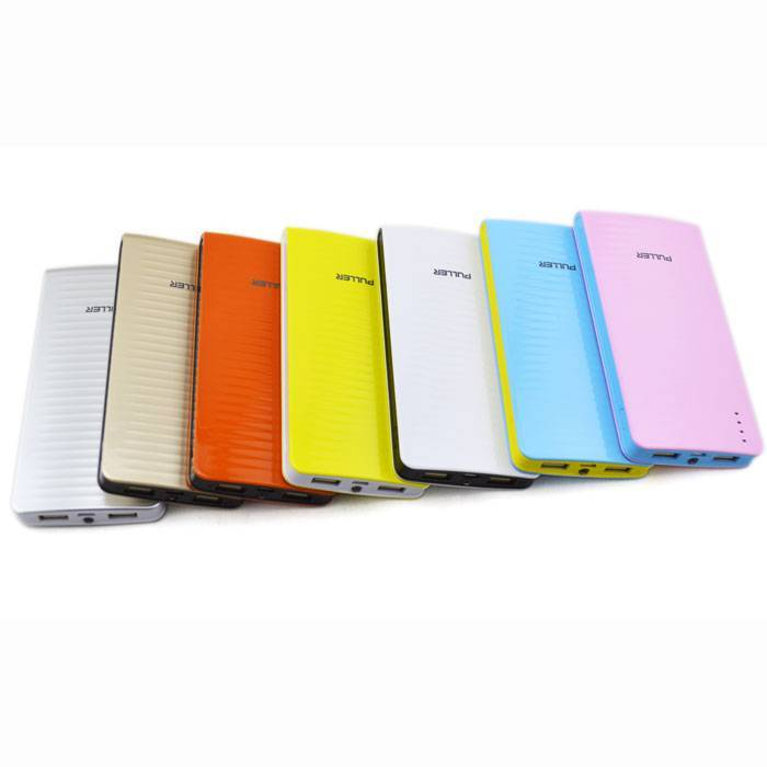 PULLER POWER BANK 2 USB outputs 10000mAh portable battery charger iphone charger