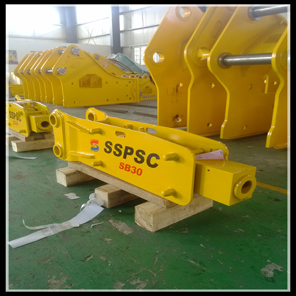top type hydraulic concrete breaker hammer