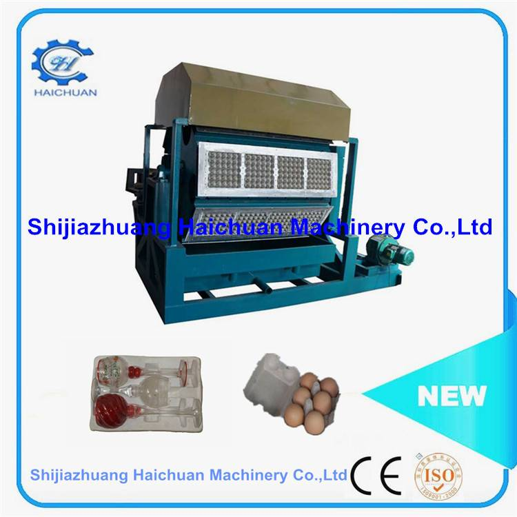 Large Capacity Chicken Egg Tray Machine with good quality