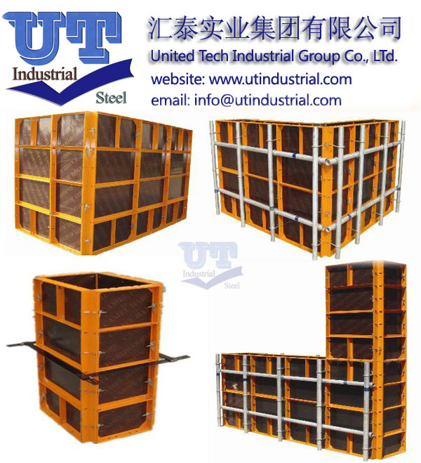Highly Efficient and Excellent Concrete Finishing Steel Panel Formwork /Panelized Slab Formwork