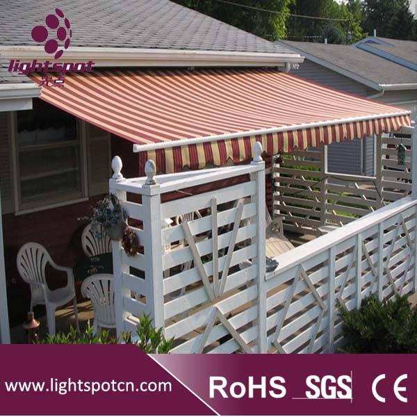 Open Folding Arm Awning/Patio Door Awning/Patio Canopy/Folding Sun Shelter