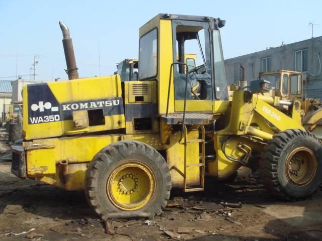 komatsu WA350 wheel loaders for sale,komatsu loaders