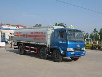 FAW rear double axles refueling truck