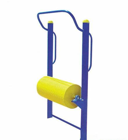 Outdoor fitness equipment roller balance training machine