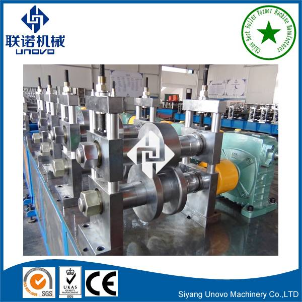 automatic ladder type cable tray roll forming machine