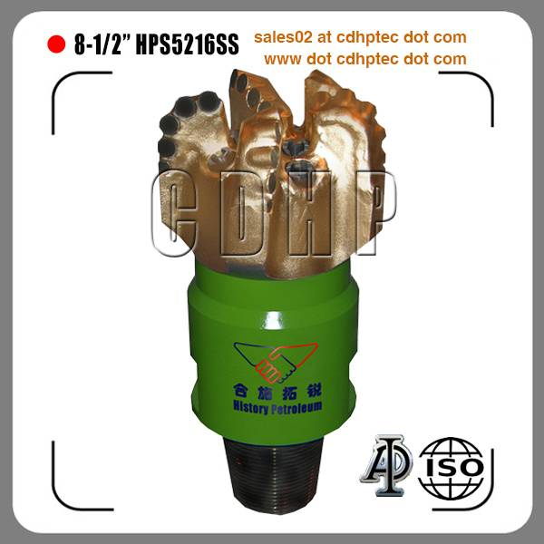 "8 1/2"" API approved oil and gas drill bit ,rock drill bit"