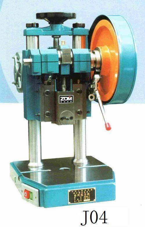 J04 table bench press puncher machine