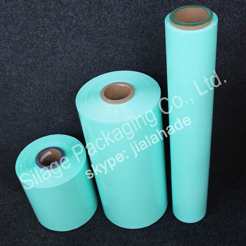 Green Color, Soft type,UV-resistance, Japan Silage Film,Stretch Wrap film for Wrapping