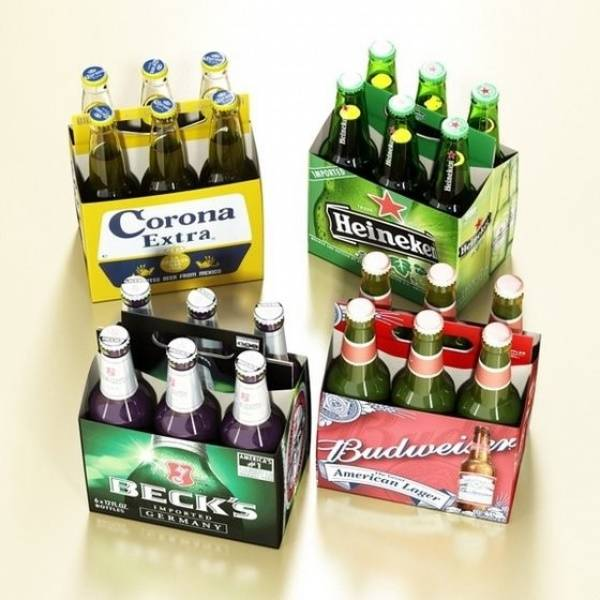 BECK'S BEER 500ML , HEINEKEN BEER 24X330ML BOTTLES. Heineken, Carlsberg, Peroni, Corona, Beck's, Bud