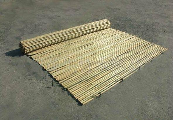 eco-friendly cheap nature bamboo fence