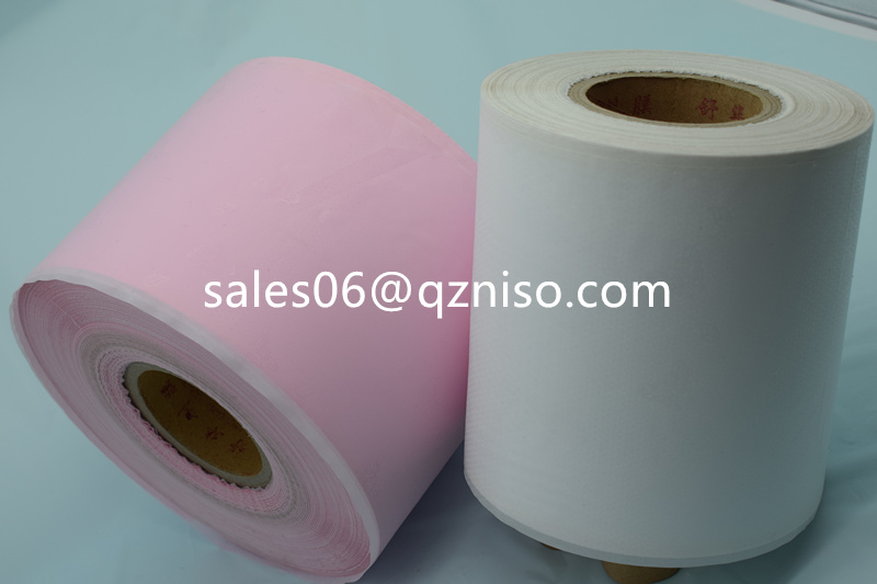 High quality silicone released PE film for sanitary napkin
