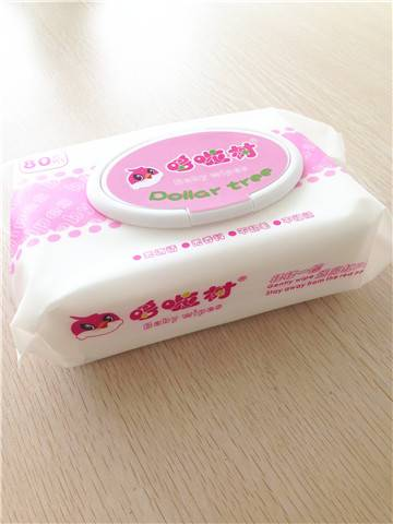 Baby wet wipes with good quality