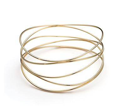Elsa Peretti Wave Five-row Bracelet