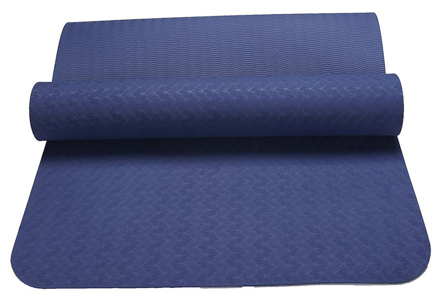 DM mats Non Slip TPE Yoga Mat for Hot Yoga Pilate Gymnastics Bikram Meditation Towel- High Density T