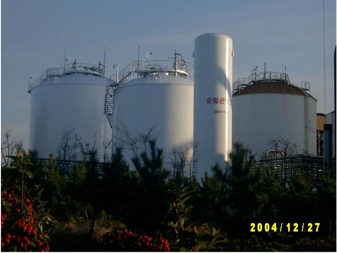 LO2 Storage Tank