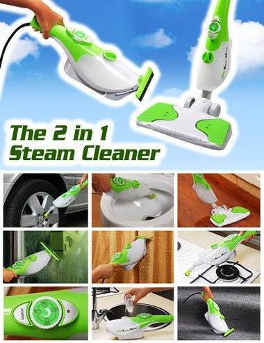 steam cleaner(as seen on tv)