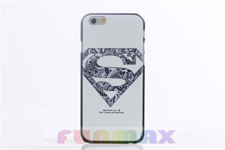 "Unique Printing Frosted Protective Hard Back Cover Case Designed for iPhone 6 (4.7"")"