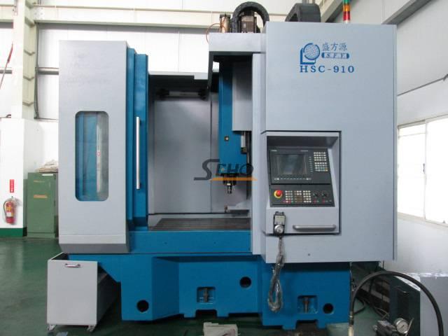HSC-910 SHENQ FANG YUAN CNC DOUBLE COLUMN MACHINING CENTER (2002)