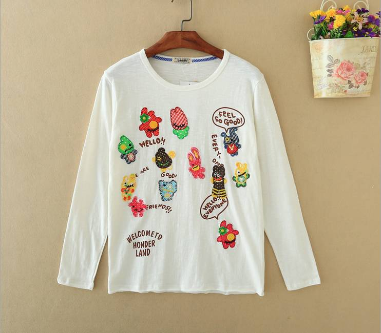 cotton long sleeve t shirts