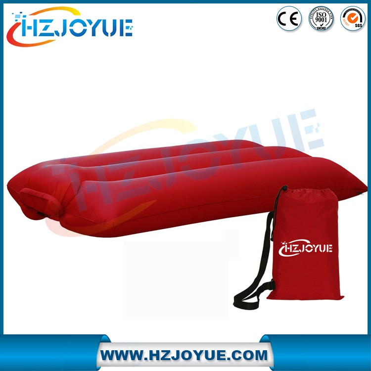 Inflatable lounger for Camping Air Sleeping Bag for Hiking Air Sofa Bed Indoor Nylon Waterproof Air