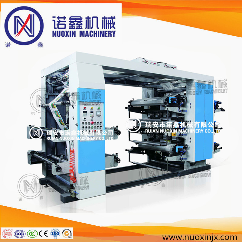 2017 New 6 color PP film flexible printing machinery/flexographic printing machine