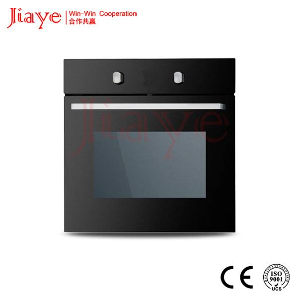 56L Full black glass Built-in baking convection Oven/Gas oven