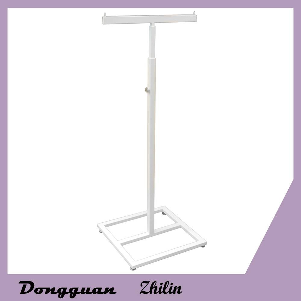 Fashion simple design adjustable metal display shelf