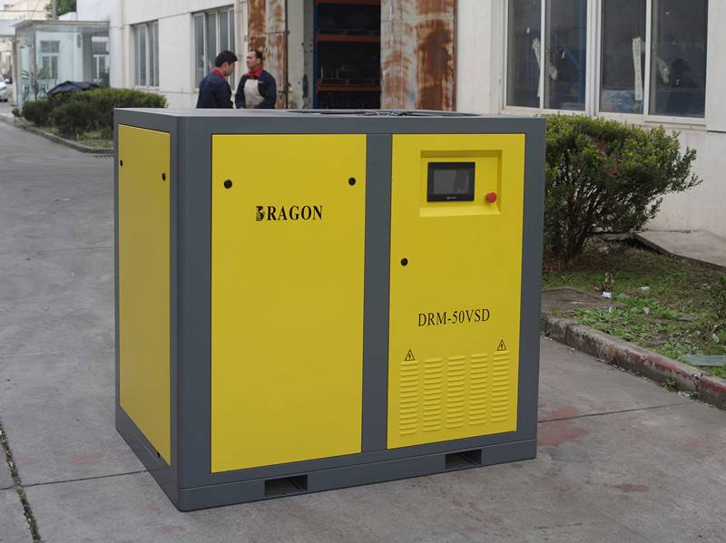 stationary Dragon screw air compressor with CE approval