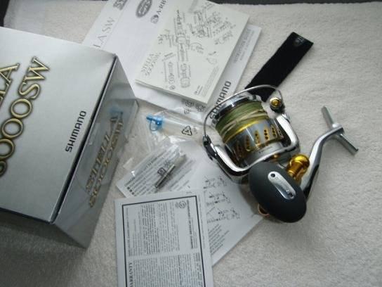 Shimano Stella STL8000SW Fishing Reels